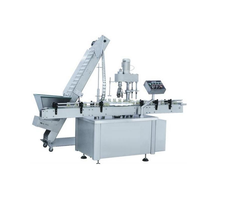 Screw cap machine