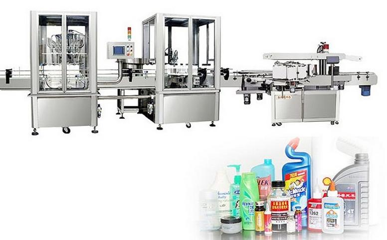 High viscosity filling production line
